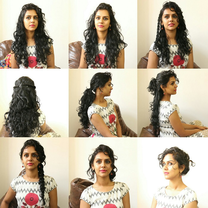 11 easy everyday hairstyles for curly hair ...